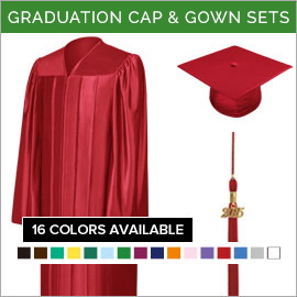 Junior High & Middle School Cap & Gown Packages