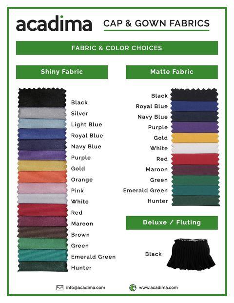 Fabric & Colour Choices
