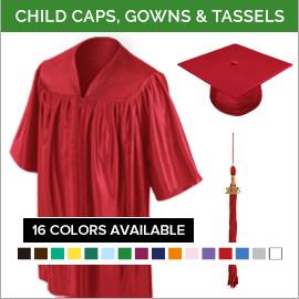 Kindergarten, Pre-K & Daycare Cap & Gown Packages